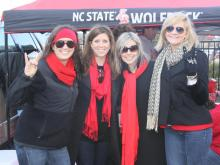 Fans of the North Carolina State University Wolfpack made the trip to Charlotte for the Belk Bowl Dec. 27, 2011.