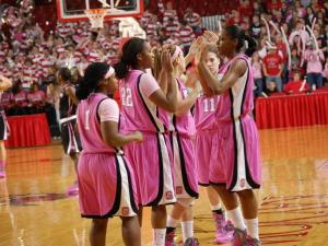 N.C. State took on Wake Forest during the annual Hoops 4 Hope game on Feb. 12, 2012, honoring breast cancer surivors.