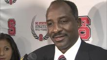 David Thompson is inducted to NC State Hall of Fame