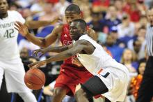 WRAL photos of NC State freshman guard Rodney Purvis.