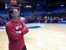 NC State got time to practice Thursday before they open NCAA tournament play against Temple Friday.