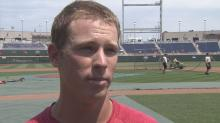 NC State outfielder Brett Williams
