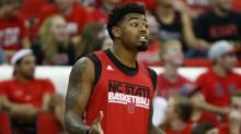 IMAGES: NC State's Lacey arrested after failing to appear for speeding ticket
