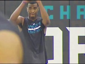 North Carolina State University's scoring savant T.J. Warren put his talents on display Saturday morning in the Queen City.