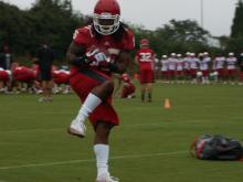 North Carolina State football opened camp Saturday with hopes of bouncing back from a down year in 2013.