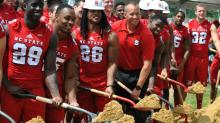 IMAGE: NC State dedicates new Close-King Indoor Practice Facility