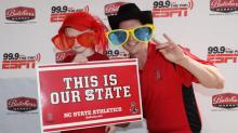 IMAGES: Images: Fans prep for NC State-Georgia Southern