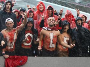 NC State tops Notre Dame 10-3 in rainy deluge