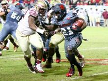 No. 22 Florida State rallies, holds off NC State, 24-20