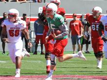 NC State offense shines in spring game