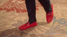NC State senior shows school spirit in his shoes