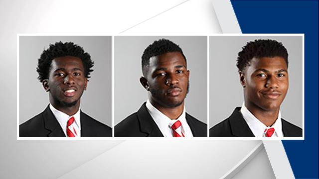 North Carolina State dismisses two freshmen, suspends three others