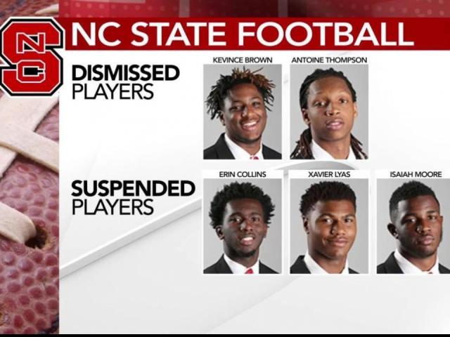NC State players disciplined