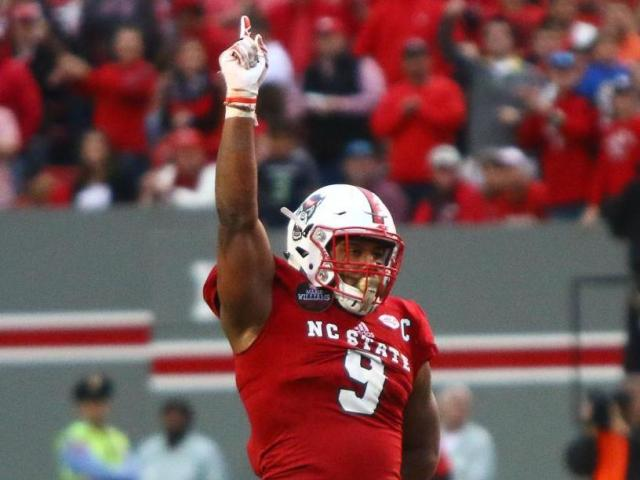 df0f7e550 Broncos select NC State s Bradley Chubb with 5th pick in NFL Draft ...