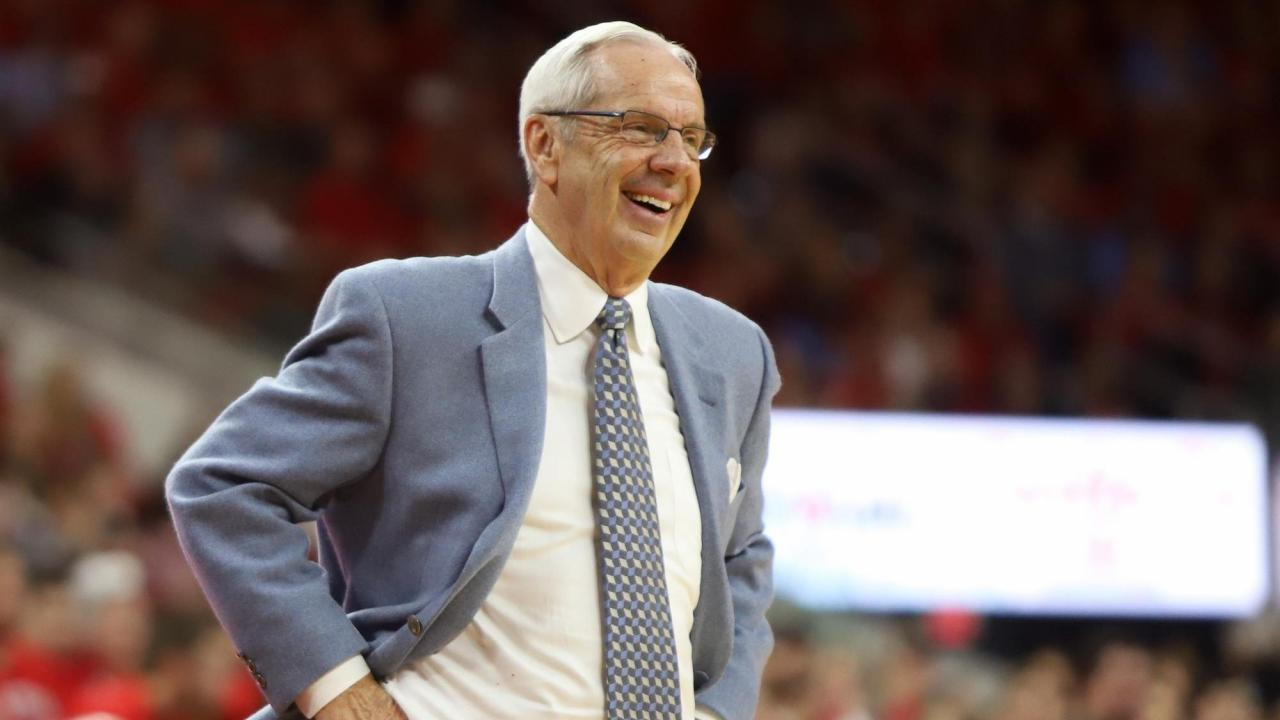 Roy Williams eager for Tar Heels to play two true post players and push the pace