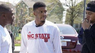 NC State basketball players help Greensboro clean up after tornado