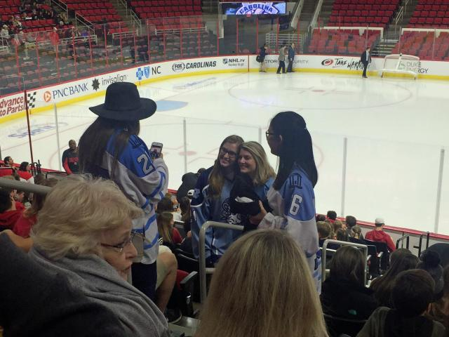 Backyard Brawl: NC State vs  UNC hockey :: WRALSportsFan com
