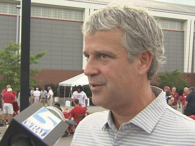 NC State AD Boo Corrigan provides more details about the Wolfpack's CWS exit