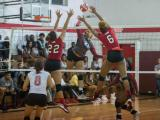 Lady Bears Volleyball Takes Care of Winston-Salem State 3-1