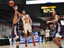 Shaw women blow 20-point lead, fall in CIAA Tournery