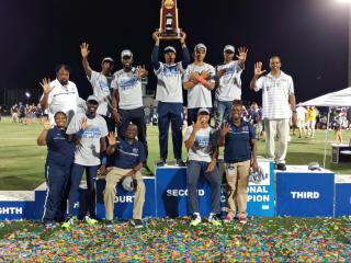 St. Aug claims 5th consecutive DII track & field title