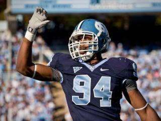 UNC's Michael McAdoo celebrates after a play against Georgia Tech in Chapel Hill.