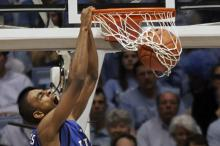 Lance Thomas started 39 games at forward for Duke during the 2009-10 season, including the Blue Devils' 61-59 victory over Butler in the national championship game.