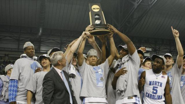 Heels Raise The Prize After NCAA National Championship Game In Detroit On Monday April