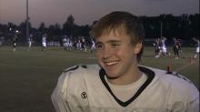 See Butch Davis' son, Drew, play QB for East Chapel Hill