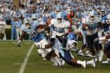 Carolina vs. the Citadel - September 5, 2009