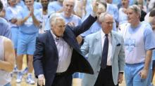 IMAGES: UNC's Dean Smith awarded Medal of Freedom