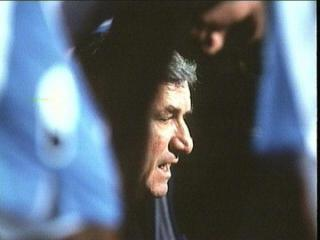 10/09/1997 Vintage Dean Smith huddled around his team.
