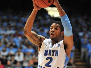 Leslie McDonald (2) during the North Carolina Tar Heels vs. Maryland Terrapins game, Sunday, February 27, 2011 at the Dean E. Smith Center in Chapel Hill N.C.