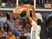 Images of North Carolina forward John Henson over the 2010-11 basketball season.