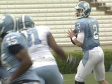 Spring game showcases new UNC leadership