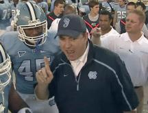 Butch Davis fired as North Carolina head football coach
