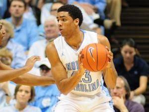 James Michael McAdoo (43) during the North Carolina Tar Heels vs. Texas Longhorns game in Chapel Hill, N.C., Wednesday, December 21, 2011.