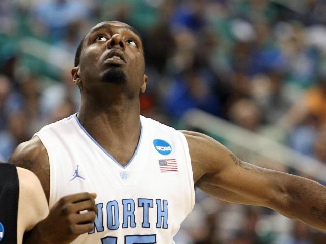 North Carolina's PJ Hairston during the Tar Heels' 77-58 opening round NCAA Tournament win over Vermont on March 16, 2012 in Greensboro, NC (Photo by Jack Morton).