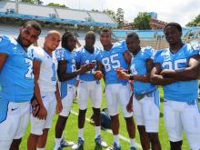 Heels prep for fresh football season