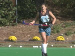 As the University of North Carolina's field hockey team gets ready for the NCAA Final Four, sophomore Samantha Travers is less awed than her teammates by the spotlight because of a unique past.