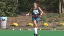 IMAGE: Field hockey Final Four a little smaller for rhino-raising Travers