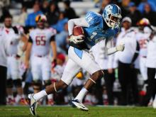 North Carolina ended their football season with a win over Maryland, Saturday, November 24, 2012 at Kenan Stadium.