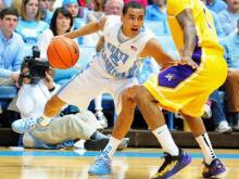 Marcus Paige (5) during the North Carolina Tar Heels vs. East Carolina Pirates NCAA basketball game, Saturday, December 15, 2012 in Chapel Hill, NC.