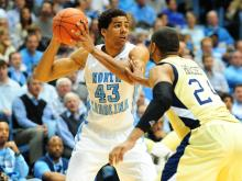 Images from North Carolina's 79-63 win over Georgia Tech on Wednesday, Jan. 23, 2013.