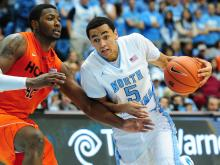 UNC needed overtime at home Saturday, but used the extra five minutes to pull away from Virginia Tech in a 72-60.