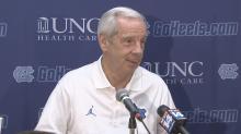 North Carolina head coach Roy Williams