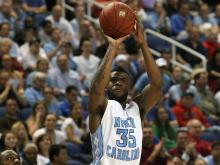 North Carolina's Reggie Bullock during the Tar Heels' 83-62 victory over Florida State in the 60th ACC Tournament on Friday, March 15, 2013 in Greensboro, NC (Photo by Jack Morton).