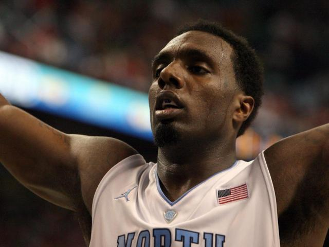 North Carolina's PJ Hairston during the Tar Heels' 79-76 victory over Maryland in the 60th ACC Tournament on Saturday, March 16, 2013 in Greensboro, NC (Photo by Jack Morton).