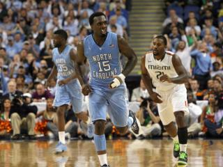 North Carolina's PJ Hairston during the Tar Heels' 87-77 title game loss to Miami in the 60th ACC Tournament on Sunday, March 17, 2013 in Greensboro, NC (Photo by Jack Morton).