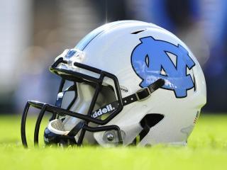 UNC Football Helmet